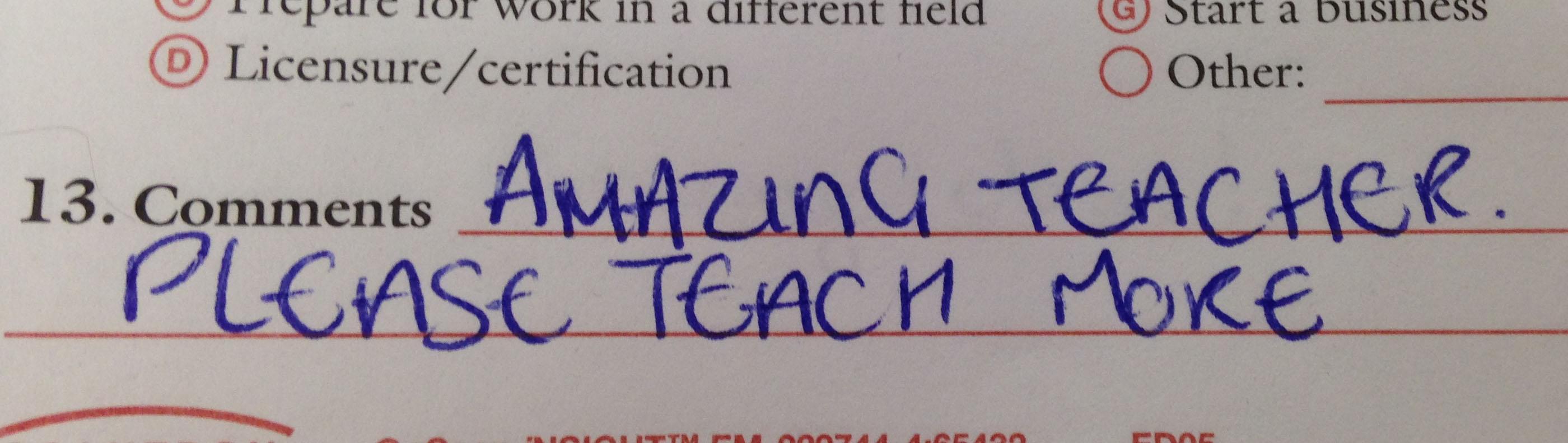 Amazing teacher please teach more