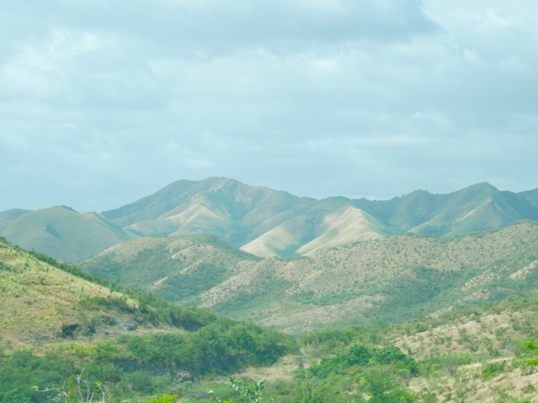 Mountains and sky in central Puerto Rico
