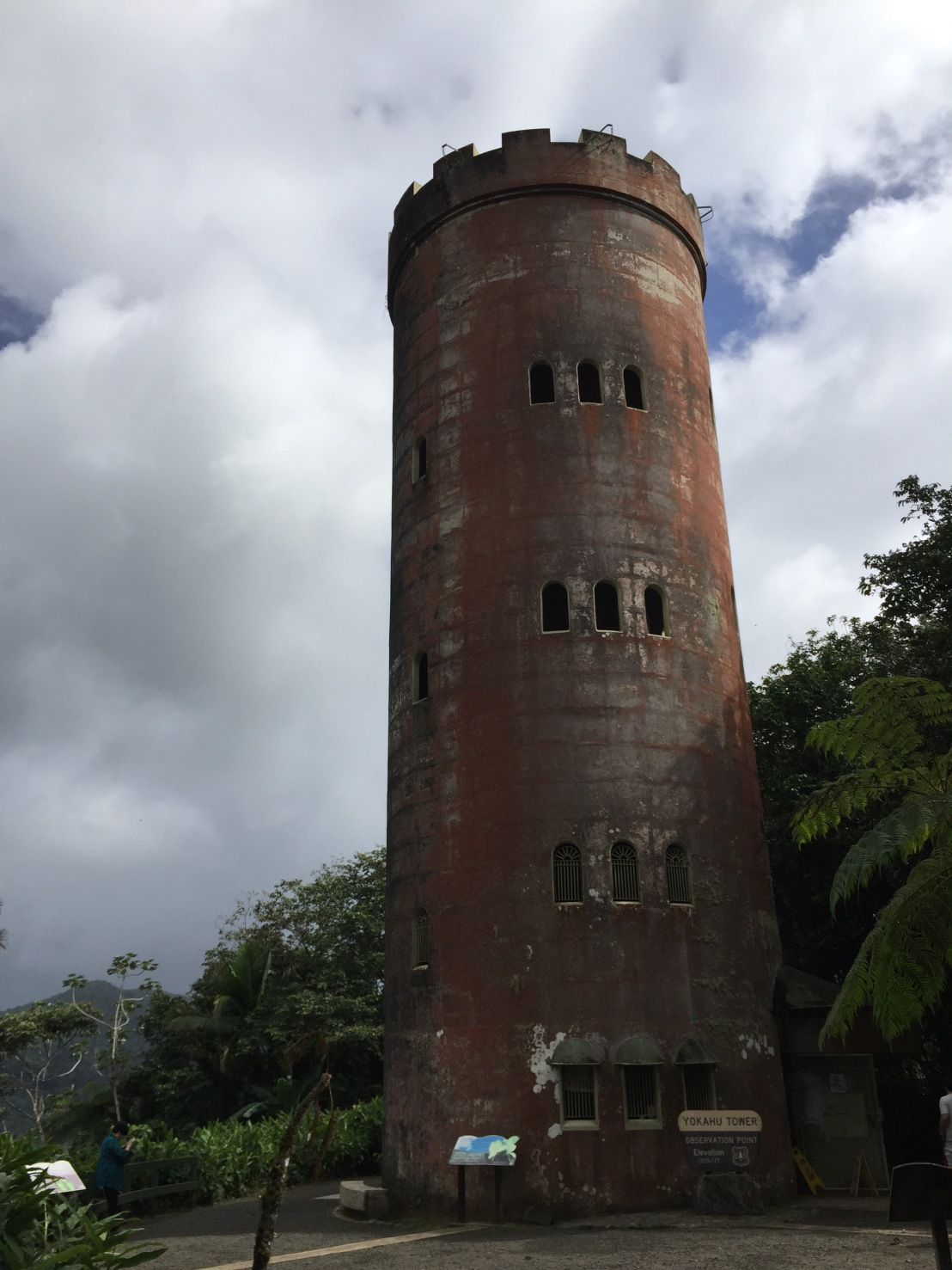 Tower in the rainforest